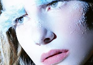 rostro con frio