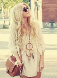 Look Boho Chic (Pinterest)
