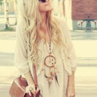 Look Boho Chic (Pinterest)